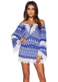 T-Bags LosAngeles Crochet Detail Dress