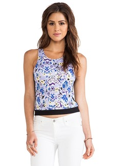 T-Bags LosAngeles Cropped Tank in Purple