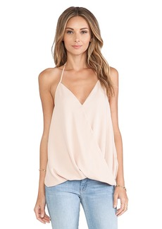 T-Bags LosAngeles Cross Front Tank in Blush