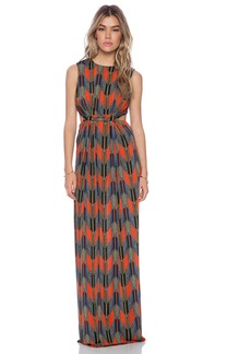 T-Bags LosAngeles Cut Out Maxi Dress