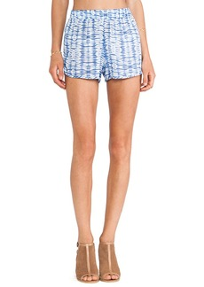 T-Bags LosAngeles Dolphin Hem Shorts in Blue
