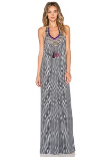 T-Bags LosAngeles Embellished Maxi Dress