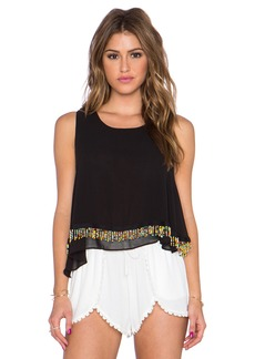 T-Bags LosAngeles Embellished Tank