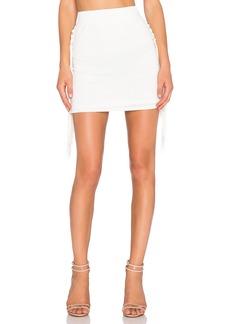 T-Bags LosAngeles Fringe Mini Skirt