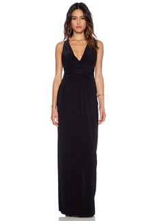 T-Bags LosAngeles Gathered Waist Maxi Dress