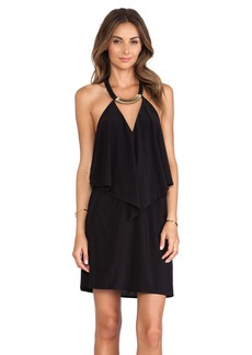 T-Bags LosAngeles Halter Cutout Mini Dress
