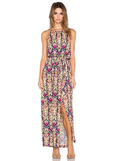 T-Bags LosAngeles Halter Maxi Dress
