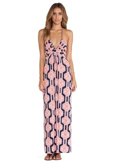 T-Bags LosAngeles Halter Maxi Dress