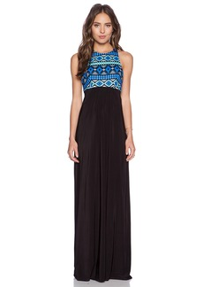 T-Bags LosAngeles Ikat Maxi Dress