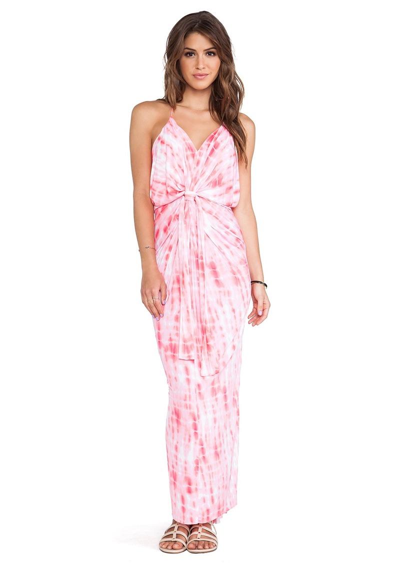 T-Bags LosAngeles Knot Front Maxi Dress