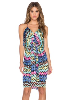 T-Bags LosAngeles Knot Front Mini Dress
