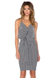 T-Bags LosAngeles Knot Front Mini Dress