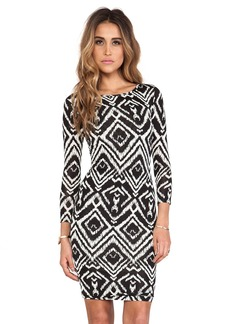 T-Bags LosAngeles Long Sleeve Body Con Dress