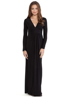 T-Bags LosAngeles Long Sleeve Maxi Dress