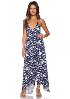 T-Bags LosAngeles Low Back Maxi Dress