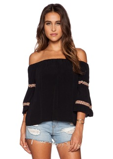T-Bags LosAngeles Off Shoulder Top