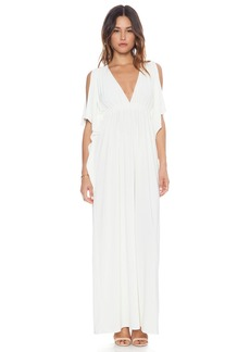 T-Bags LosAngeles Open Shoulder Maxi Dress