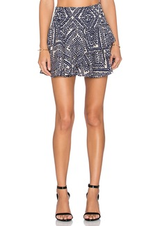 T-Bags LosAngeles Printed Mini Skirt