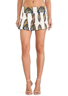 T-Bags LosAngeles Printed Shorts in Ivory