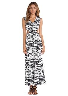 T-Bags LosAngeles Side Cut Out Maxi Dress