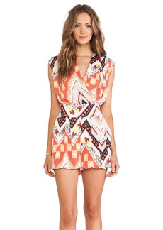 T-Bags LosAngeles Straight Leg Crossover Romper