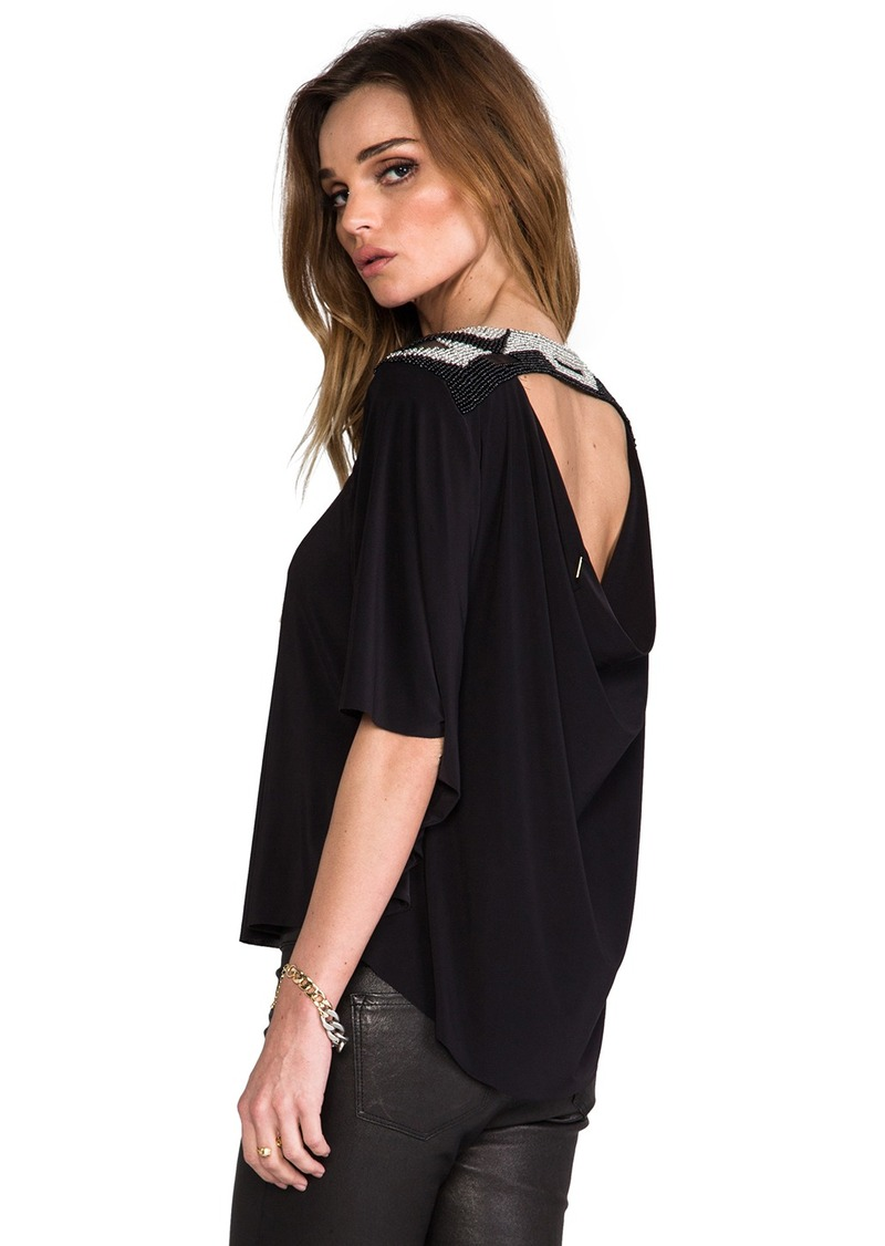 T-Bags LosAngeles T-Bags Los Angeles Back Cut Out Blouse