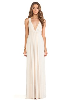 T-Bags LosAngeles Tie Back Maxi Dress