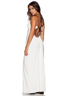 T-Bags LosAngeles Tie Back Maxi Dress