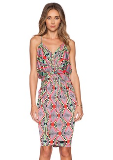 T-Bags LosAngeles Tie Front Dress