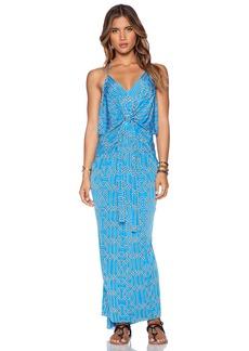 T-Bags LosAngeles Tie Front Maxi Dress
