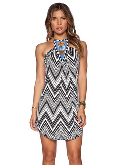 T-Bags LosAngeles Tribal Halter Dress