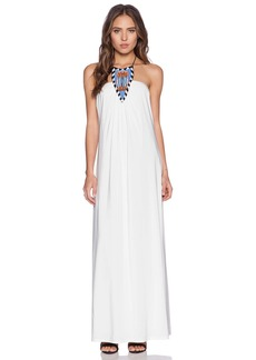 T-Bags LosAngeles Tribal Halter Maxi Dress