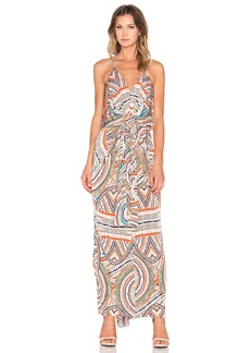 T-Bags LosAngeles Twist Front Maxi Dress