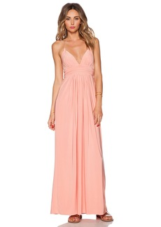 T-Bags LosAngeles X Back Maxi Dress