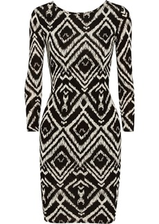 T-Bags Printed stretch-jersey mini dress
