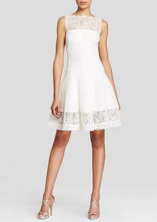 Tadashi Shoji Dress - Sleeveless Lace Fit and Flare