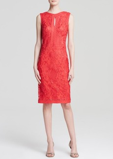Tadashi Shoji Dress - Sleeveless Lace Sheath