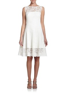 Tadashi Shoji Lace Fit-&-Flare Dress