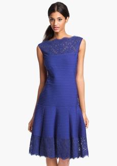 Tadashi Shoji Matte A-Line Jersey Dress