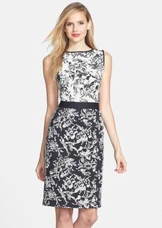 Tadashi Shoji Sleeveless Embroidered Dress