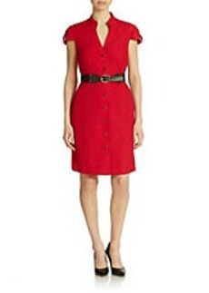 TAHARI ARTHUR S. LEVINE Belted Shirtdress