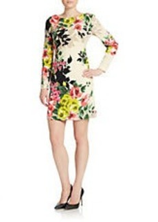TAHARI ARTHUR S. LEVINE Floral Print Shift Dress