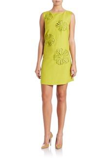 TAHARI ARTHUR S. LEVINE Floral Shift Dress