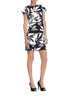 TAHARI ARTHUR S. LEVINE Floral Shift Dress