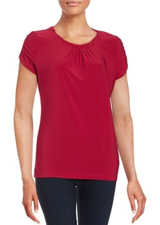 TAHARI ARTHUR S. LEVINE Twist-Neck Top