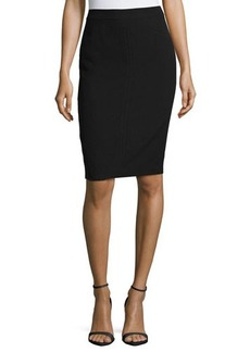 Tahari ASL Bennita Seamed Pencil Skirt
