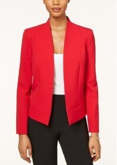 Tahari Asl Petite Bi-Stretch Open-Front Jacket