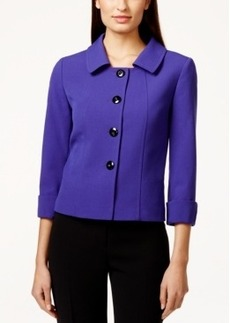 Tahari Asl Bi-Stretch Solid Jacket