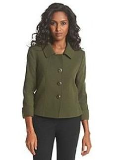 Tahari ASL® Button-Front Jacket