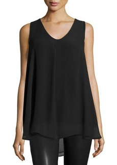 Tahari Eliza Sleeveless Knit Blouse